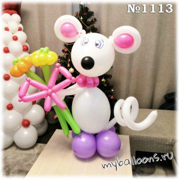 Мышка из воздушных шаров