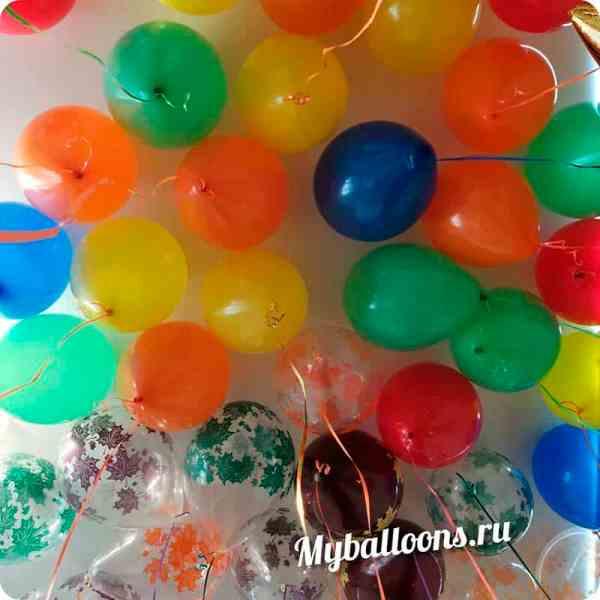 воздушный шар пастель