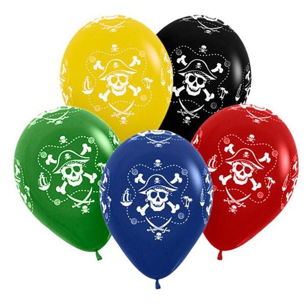 Воздушные шары с пиратами