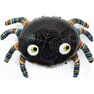 Фольгированный паук с гелием