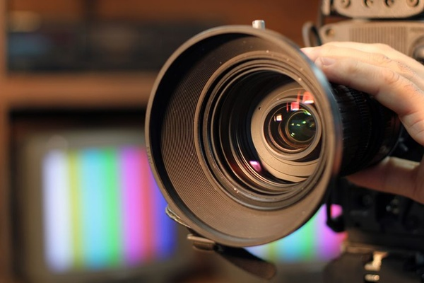 映画制作カメラ