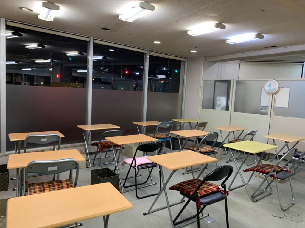 徳島市の学習塾で自習室を完備