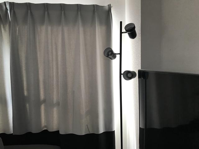 室内の日差し