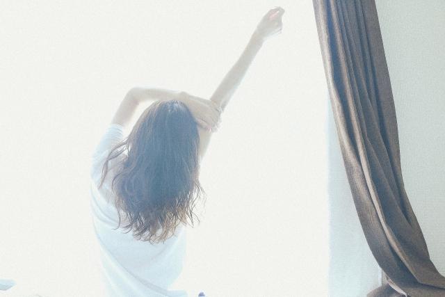 起床時の体調確認