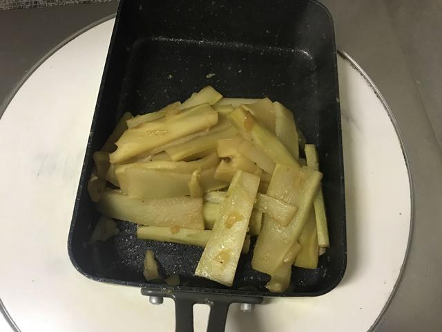【節約レシピ】ブロッコリーの芯(茎)をメンマ風に