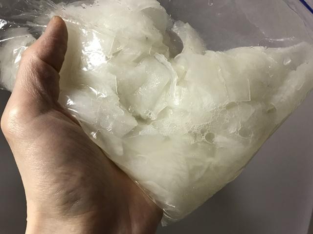 塩もみして水が出てきた大根