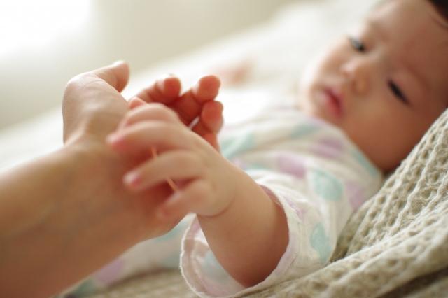 出産扶助で生まれた赤ちゃん
