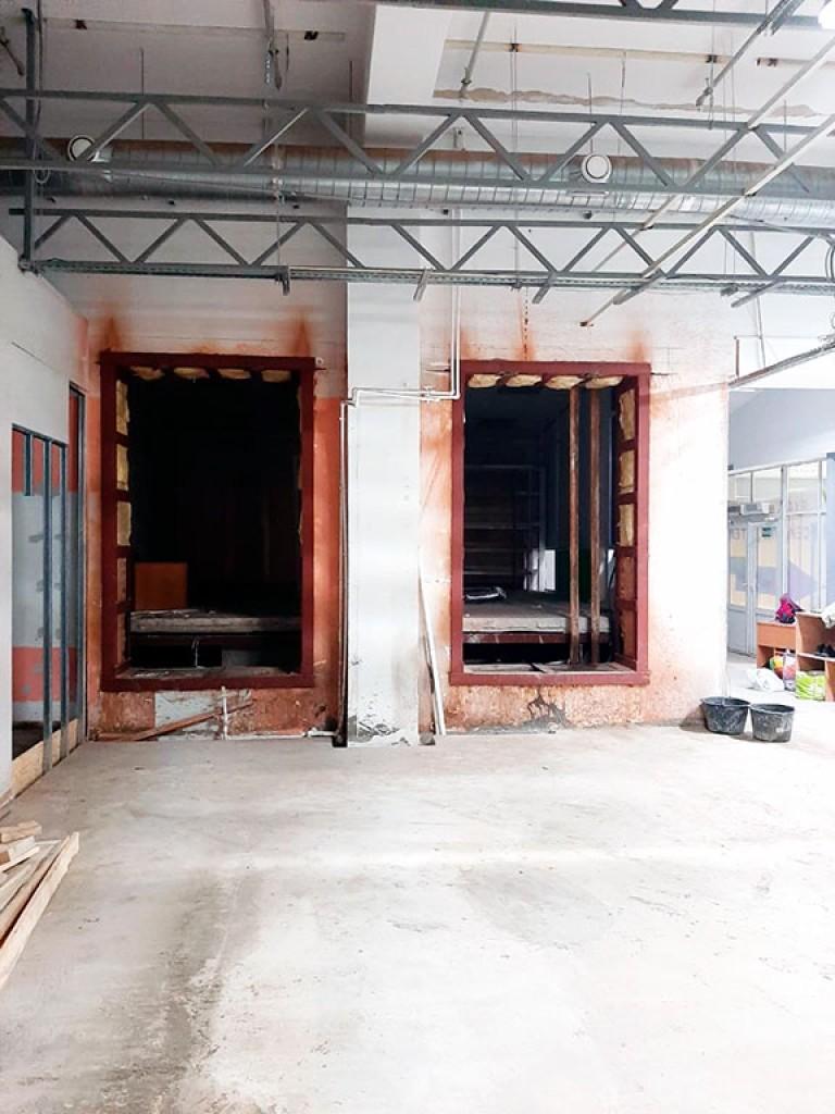 Резка проемов в бетонных стенах