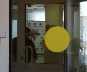 Контрастная маркеровка двери