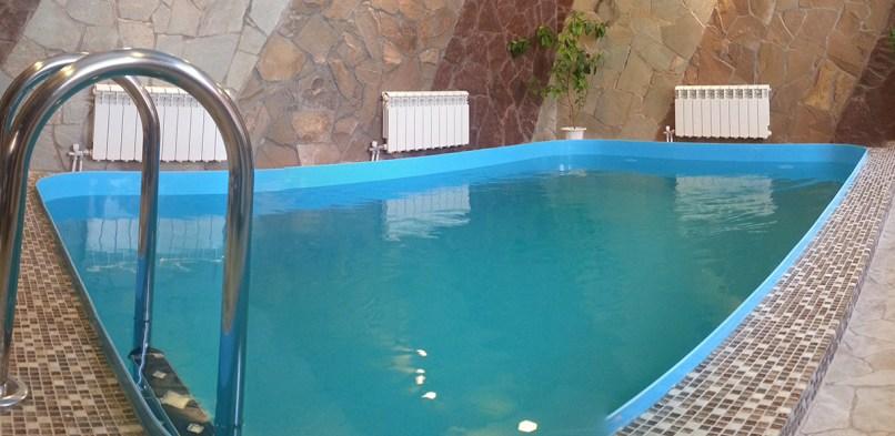 Частный бассейн из полипропилена