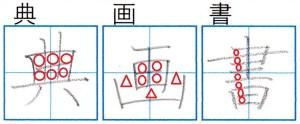 ※綺麗な字の書き方の絶対基本は隙間の均等