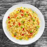 receta de arroz a la jardinera