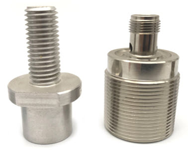High Precision CNC Machining Parts / Anodized Aluminum Parts / 5 Axis CNC