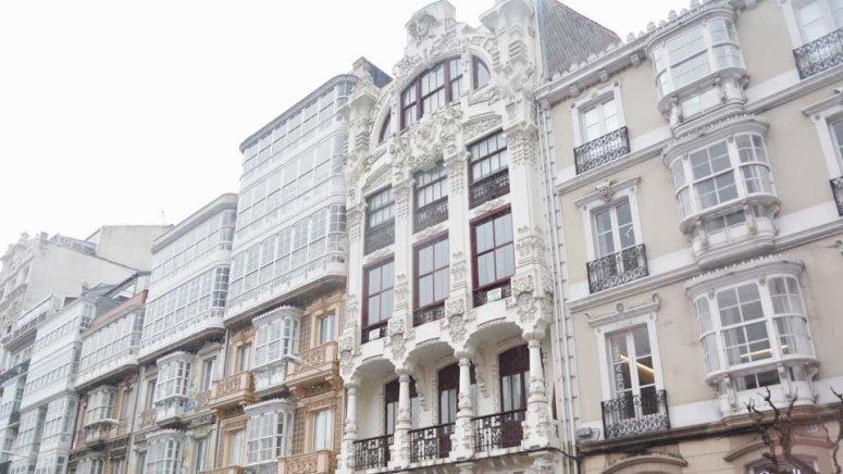 Casa de Jerónima Arambillet en Plaza de Lugo
