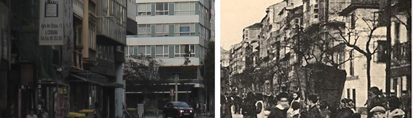 San Andrés antes y después