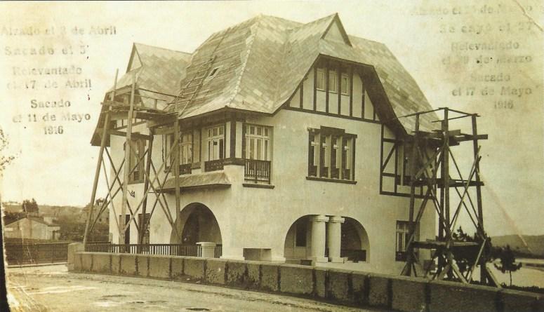 Chalet Carnicero. Año 1916.