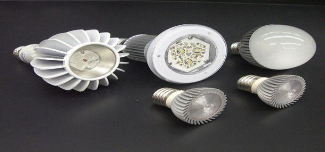Осветеност с LED лампи