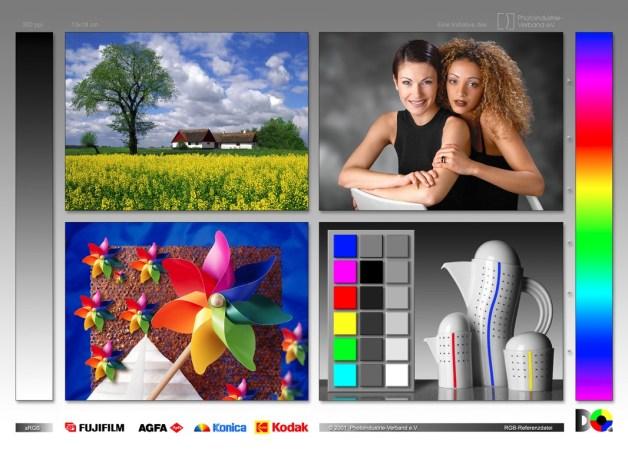 Оригинальное изображение - профиль принтера Canon imagePROGRAF iPF670 для глянцевой фотобумаги