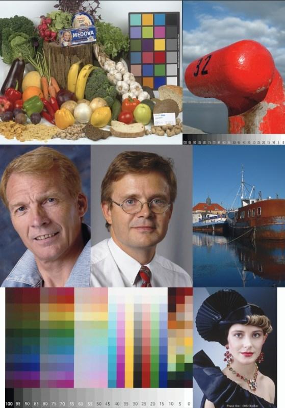 Цветовой профиль принтера HP DesignJet T1100 | Матовая ф/бумага. Цветопроба