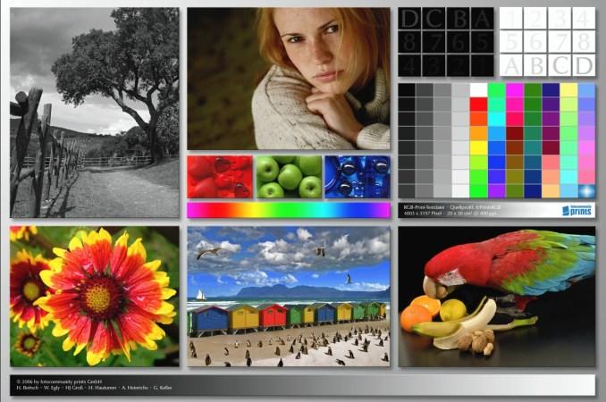 Цветовой профиль принтера Canon PIXMA iX6840 | Оригинал