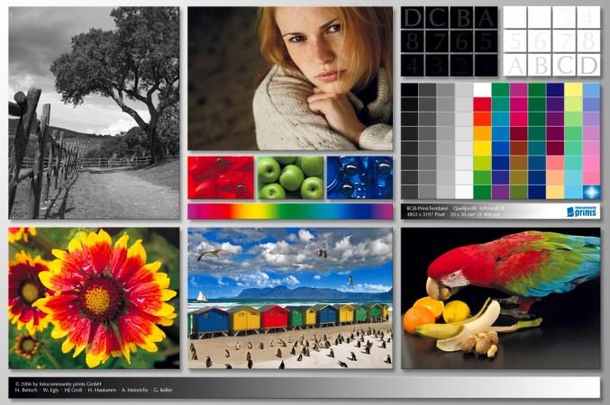 Цветовой профиль принтера Epson SureColor SC-T3200 | Цветопроба