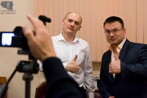 Евгений Лоскутов и Николай Орловский