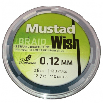mustad wish braid 0.12mm