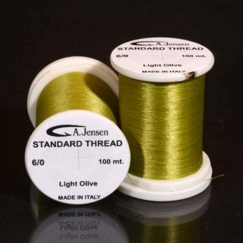 6-0 thread -light olive
