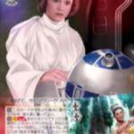 """""""極秘任務""""レイア(ヴァイスシュヴァルツ「STARWARS」収録ダブルレアRR)"""