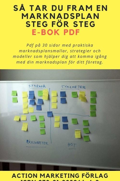 e-bok marknadsplans mallar