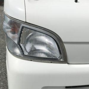 ハイゼットトラック S200P ヘッドライト磨き 施工後!