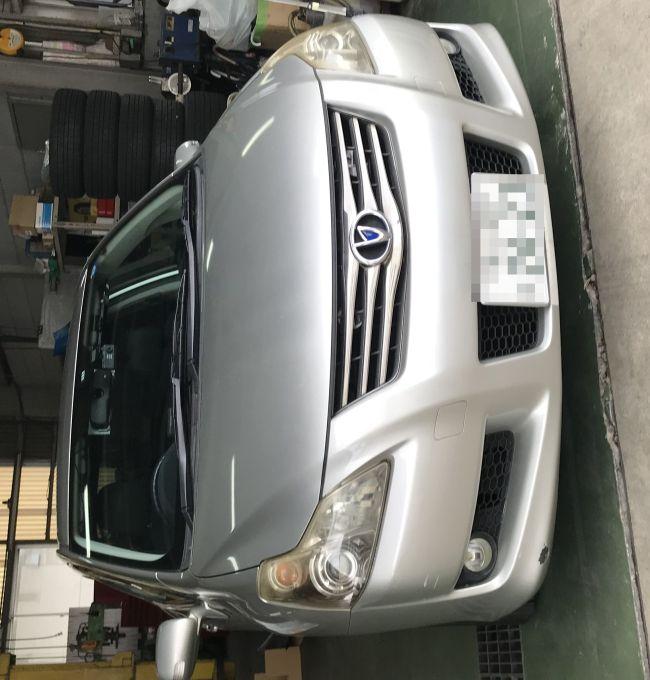 トヨタ ブレイド AZE156H ヘッドライト磨き!黄ばみ 曇り取り!施工前