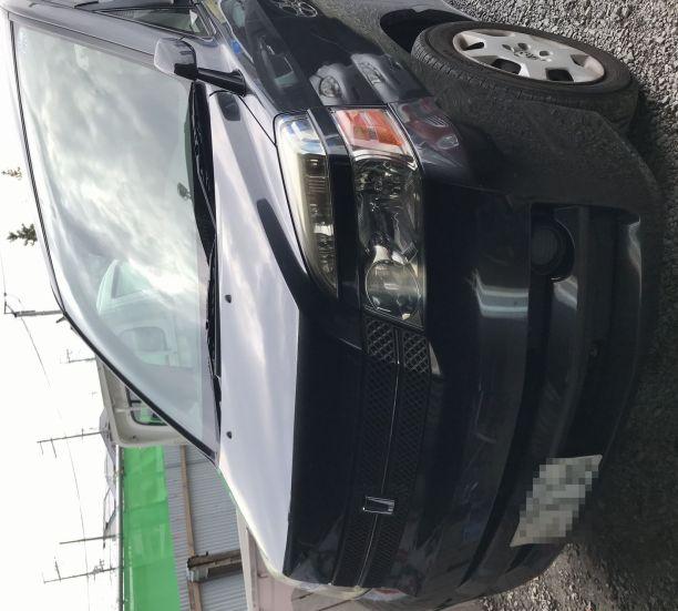 トヨタ ヴォクシー AZR60G ヘッドライト磨き!施工前