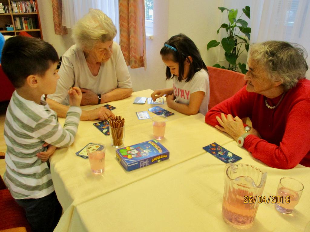 Besuch im Haus Rudolfsheim