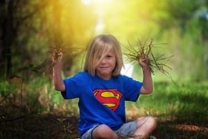 natur sommer barn