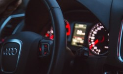 bil ratt speedometer