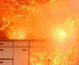 bolig kjøkken brann