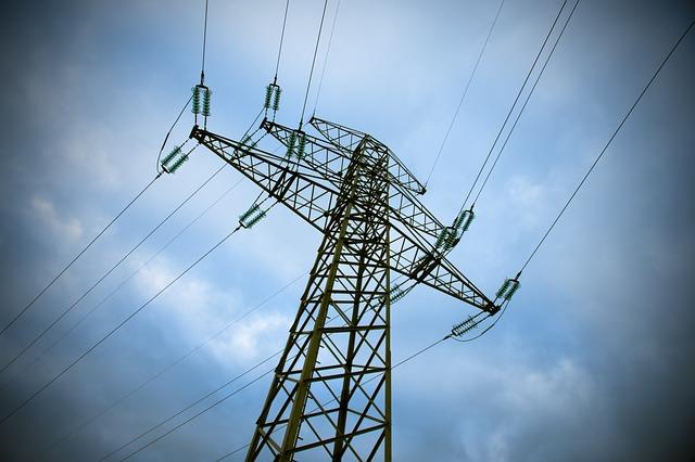 mast elektrisitet