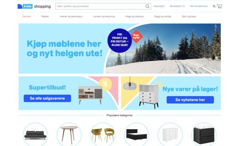finn shopping