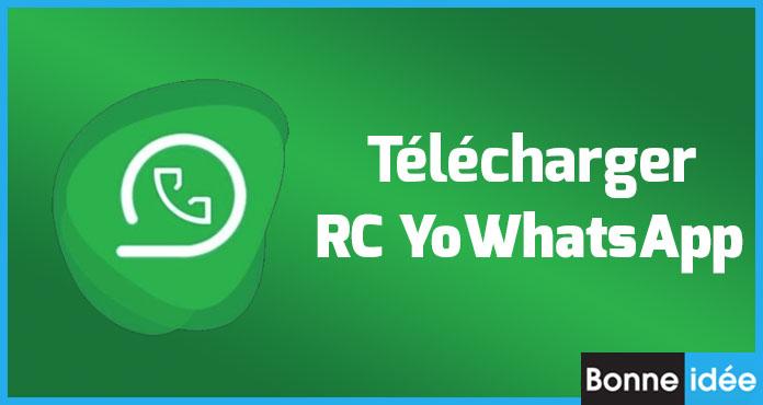RC YoWhatsApp APK Télécharger