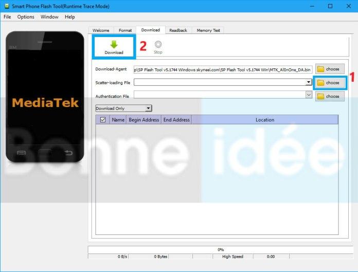 Télécharger et installer SP Flash Tool 3