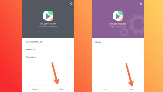 install Gapps in Miui9