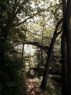 1. Brücke am Lopausee, Britta