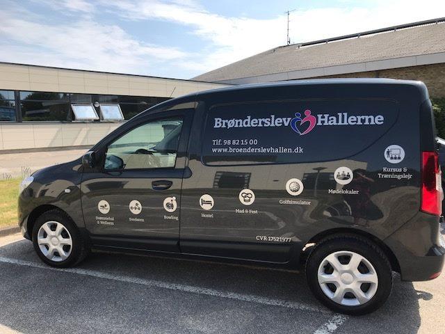 Brønderslev Hallens nye bil