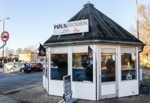 Pølsevognen Banegårdspladsen 29 nov 2019