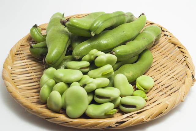 そら豆の保存方法