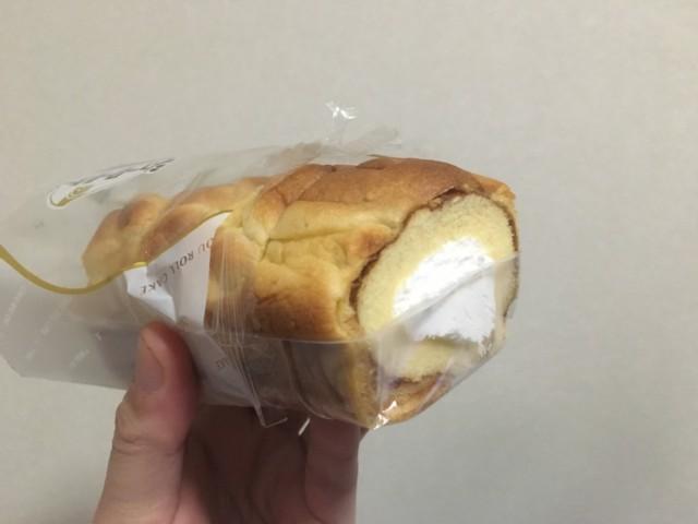 シューロールケーキの冷凍
