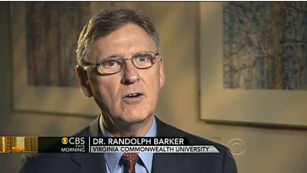 Randolph Barker CBS. Quelle: CBS this morning