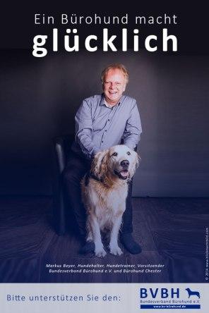 Ein Bürohund macht glücklich - Radiointerview mit Markus Beyer