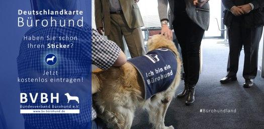 Deutschlandkarte Bürohund- Bundesverband Bürohund